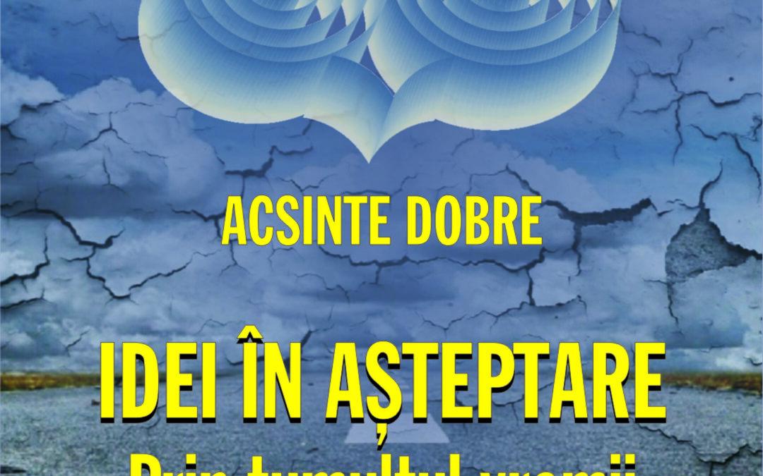 În curând, la Editura Fundației România de Mâine, în COLECȚIA STUDII ȘI ESEURI DE FILOSOFIE