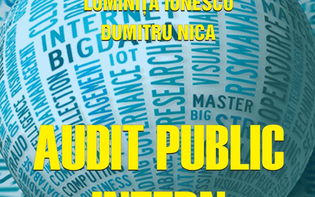 În curând, la Editura FundațieiRomânia de Mâine – Audit public intern